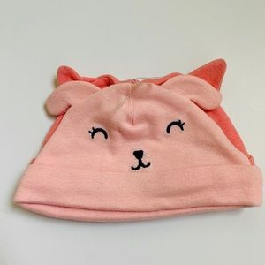 Baby Girl Carter's Hats Cat and Dig Set